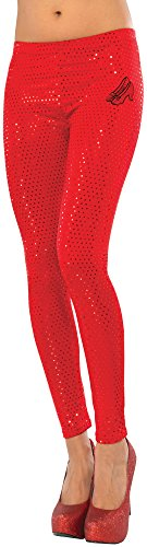 Rubie's Costume Co Women's Wizard Of Oz Dorothy Ruby Red Leggings