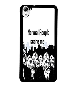 PrintDhaba Quote D-3743 Back Case Cover for HTC DESIRE 826 (Multi-Coloured)