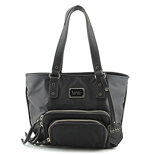 nicole-miller-double-take-medium-tote-black