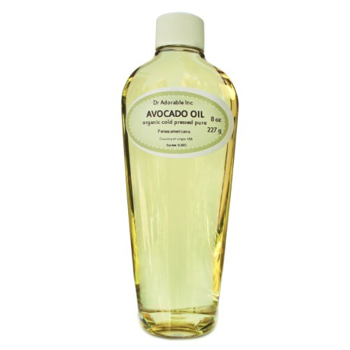 Avocado Oil 100% Pure Organic Cold Pressed 8 Oz