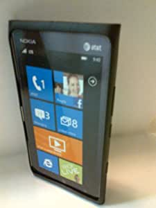 Nokia CC-1037-BK OEM Soft Cover Case for Nokia Lumia 900 4G - Black