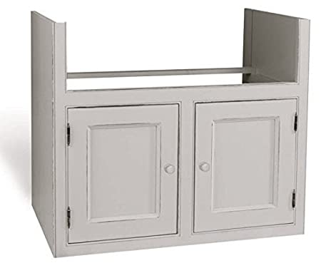Kitchen Units Kitchen Base Unit 900mm Double Belfast Sink Unit with 2 Doors ( to fit an 800mmW x 220H sink only) Solid Wood VL5084