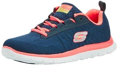 Skechers Flex AppealSweet Spot, Damen Sneakers, Blau (NVHP), 35 EU