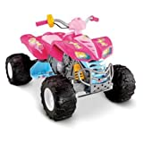 Fisher-Price Power Wheels Barbie ATV Battery Powered Riding Toy