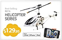 IPhone / IPad / iPOD Controlled RC Remoted Controlled Helicopter Extreme Edition - MOTA 6036 by MOTA