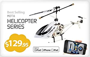 iPhone / iPad / iPod Remote Controlled RC Helicopter (Extreme Edition) - MOTA 6036