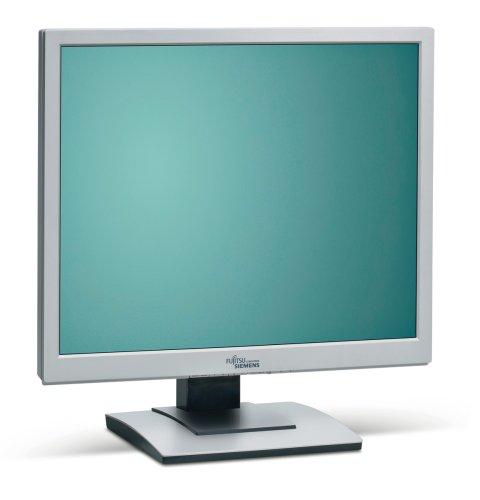 Fujitsu  Scenicview B17-5 43,2 cm (17 Zoll) TFT Monitor (Kontrast Dyn. 800:1, 5ms Reaktionszeit), weiß / beige