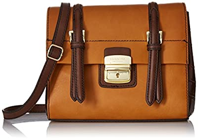 London Fog Layla Two-Tone Small Flap Shoulder Bag
