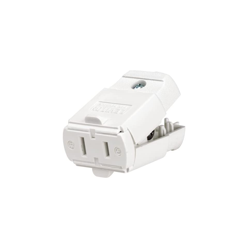 Leviton 102 Wp 15 Amp  125 Volt  Cord Outlet  Polarized