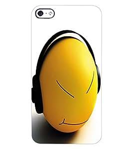 ColourCraft Cartoon Design Back Case Cover for APPLE IPHONE 4