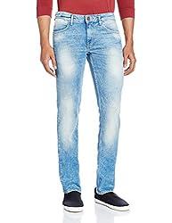 Celio Men's Slim Fit Jeans (8904231508354_TOBEARJBLEU CLAIR 01_83_Blue Clair 01)