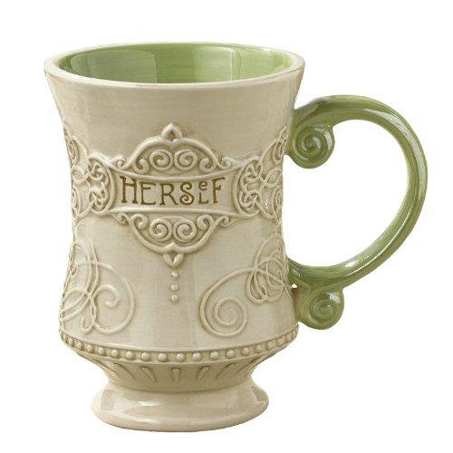 "Grasslands Road Celtic 10-Ounce ""Herself"" Irish Coffee Mug, Gift Boxed"