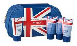 Heathcote & Ivory Men Global Traveller Bath & Body Gift Set