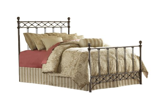 Fashion Bed Group Argyle King Size Bed in Copper Chrome Finish