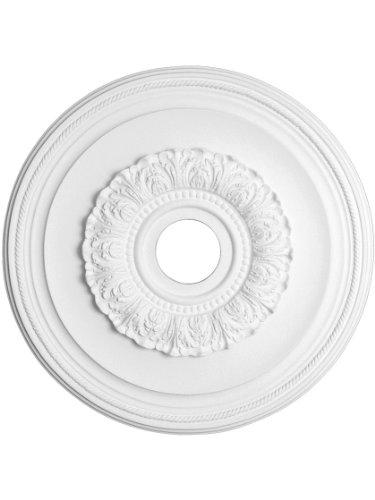 Capital Lighting 79481 Ansley 16-Inch Medallion, Paintable White Finish