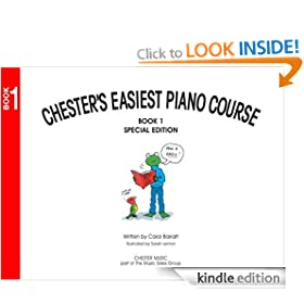 Chesters Easiest Piano Course Book 1: Bk.1