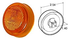 Truck-Lite Model 10 Marker Clearance LED 2-1/2'' Yellow 10250Y