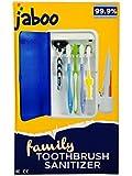 JABOO Multiple Toothbrush & Razor UV Sanitizer Wall Mounted