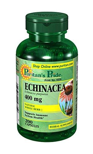 エキナセア400mg200錠!Echinacea一回1錠1日3回?6回