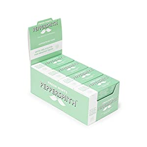 Peppersmith 100% Xylitol Mints, Fine English Peppermint, 25 Mints 15 g (Pack of 12, Total 300 Mints)
