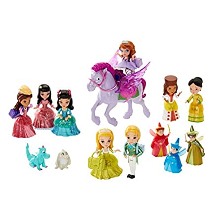 Celebrate the enchanting world of Princess Sofia with the beloved princess-in-training and 13 other beloved characters from the Disney Junior series - together in one delightful character collection! Play out favorite school-time adventures at Royal ...