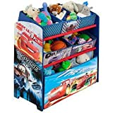 Disney Pixar Cars Multi Bin Toy Box Organizer by Delta
