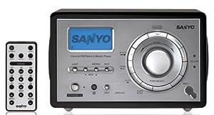 Sanyo R227 WiFi Internet Radio (Black)