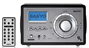 Sanyo R227 WiFi Internet Radio (Black) (Discontinued by Manufacturer)