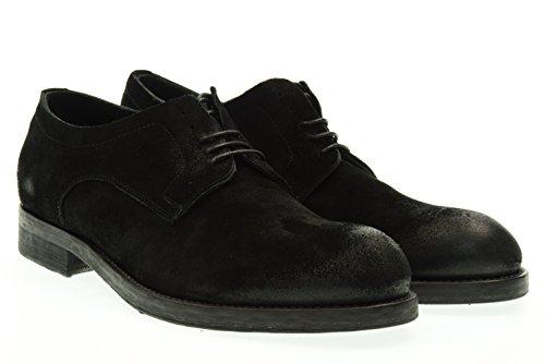 PAWELK'S uomo scarpa stringata 15504 NERO 42 Nero