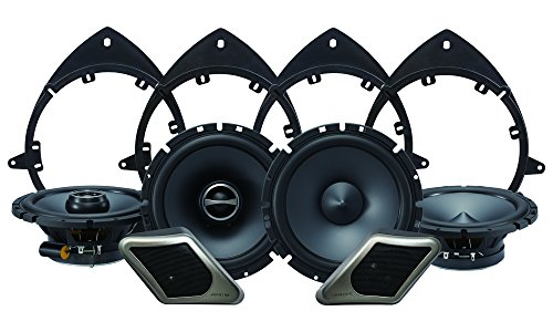 Alpine Electronics SPT-21GM Restyle 2-Way Speaker System for Full-Size Chevy, GMC Trucks or SUVs, Set of 8 (Truck Speakers In Door compare prices)