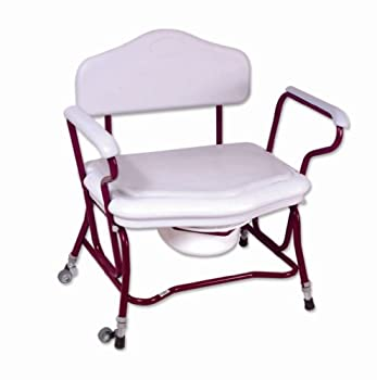Zenith Bariatric/Heavy Duty Shower & Commode Chair by NRS