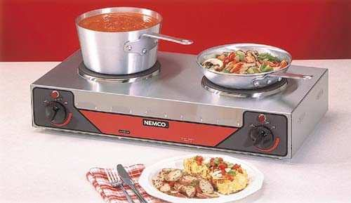 Nemco 6310-3 Vertical Hot Plate, 26-Inch