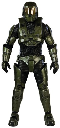 限时抢购,Halo Deluxe Master Chief Costume 士官长手办 $449