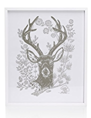Stag Frame Wall Art