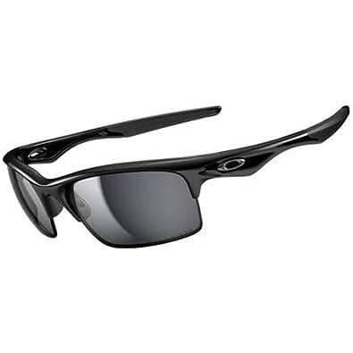 Oakley Bottle Rocket Sunglasses - Oakley Men's Polarized Active Lifestyle Eyewear - Polished Black/Black Iridium / One Size Fits All