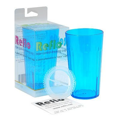 """Reflo Smart Cup, A Smart Alternative To """"Sippy Cups"""" (Clear - 2 Pack) front-207990"""