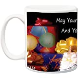 Birthday Gift For Husband;Happy Birthday Ceramic Mug For Birthday Gift