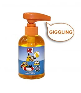 Minions Giggling Handwash orange