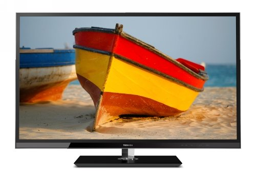 Toshiba 55UL610U Cinema Series 55-Inch 1080p 480 Hz Local Dimming 3D LED-LCD HDTV with Net TV, Black