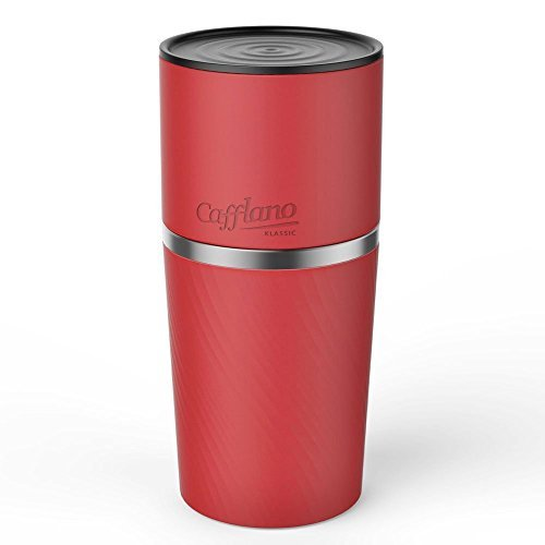 Portable All-in-one Coffee Maker Tumbler Hand Mill Grinder Dripper [並行輸入品]