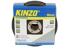 Kinzo 71769 8 Disques pour meuleuse tout mtal 125 mm