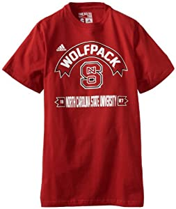 Buy NCAA North Carolina State Wolfpack Athletic Front S S Tee by adidas