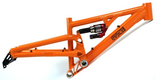 "MOUNTAIN CYCLE BATTERY 5"" Alloy Mountain Bike Frame marzocchi roco shock suspension"