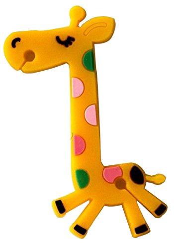 Niceeshop Cute Cartoon Giraffe Earphone Wire Wrap Winder/Organizer For Iphone