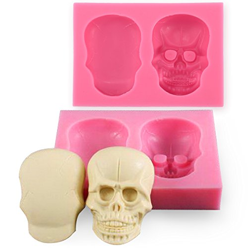 3D Skull Silicone Mold