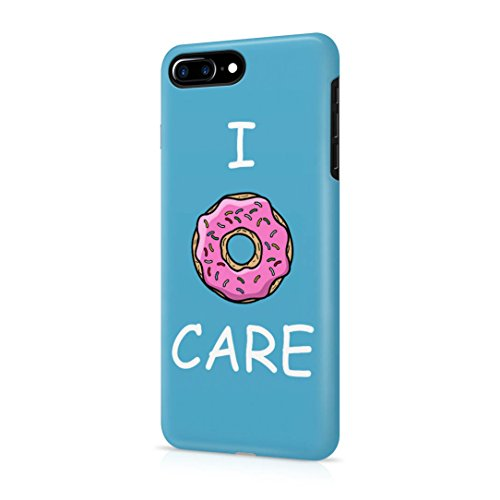 I Donut Care Donuts Tumblr Apple iPhone 7 Plus Snap-On Hard Plastic Protective Shell Case Cover