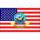 US NAVY FLAG - USA DESIGN ~ Sportsworld