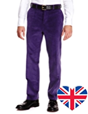 Best of British Pure Cotton Corduroy Trousers