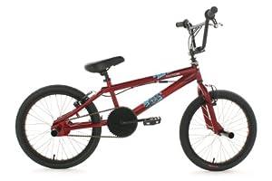 BMX Freestyle 20'' Fatt rouge KS Cycling