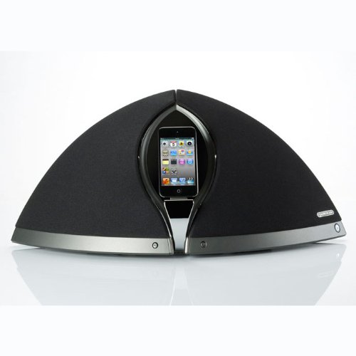 iPod/iPhone Hifi Docking Station with Dual 100mm C-CAM Bass Drivers in Black